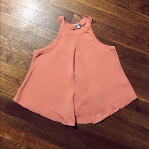 Free People Trapeze Halter Top